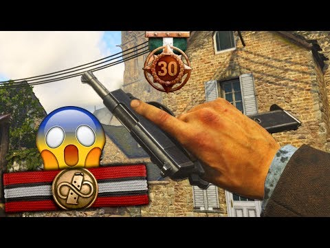 the NEW DLC PISTOL...(INFINITE AMMO) 😱 - COD WW2
