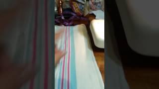 Hospital / Receiving Blanket Turn into Prefolds