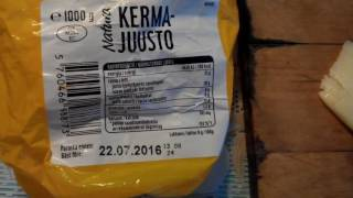 Обзор Еда сыр ARLA из финляндии нормальный но дорого