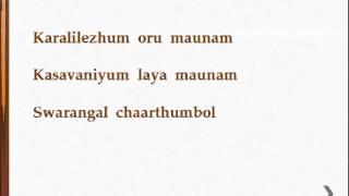 Poomaname Lyrics- Nirakootu (Malayalam 1985)