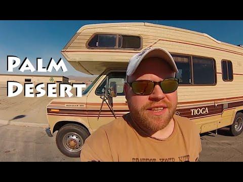 RV Nightlife & Desert Boondocking