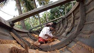 Bateaux cousus du Kerala