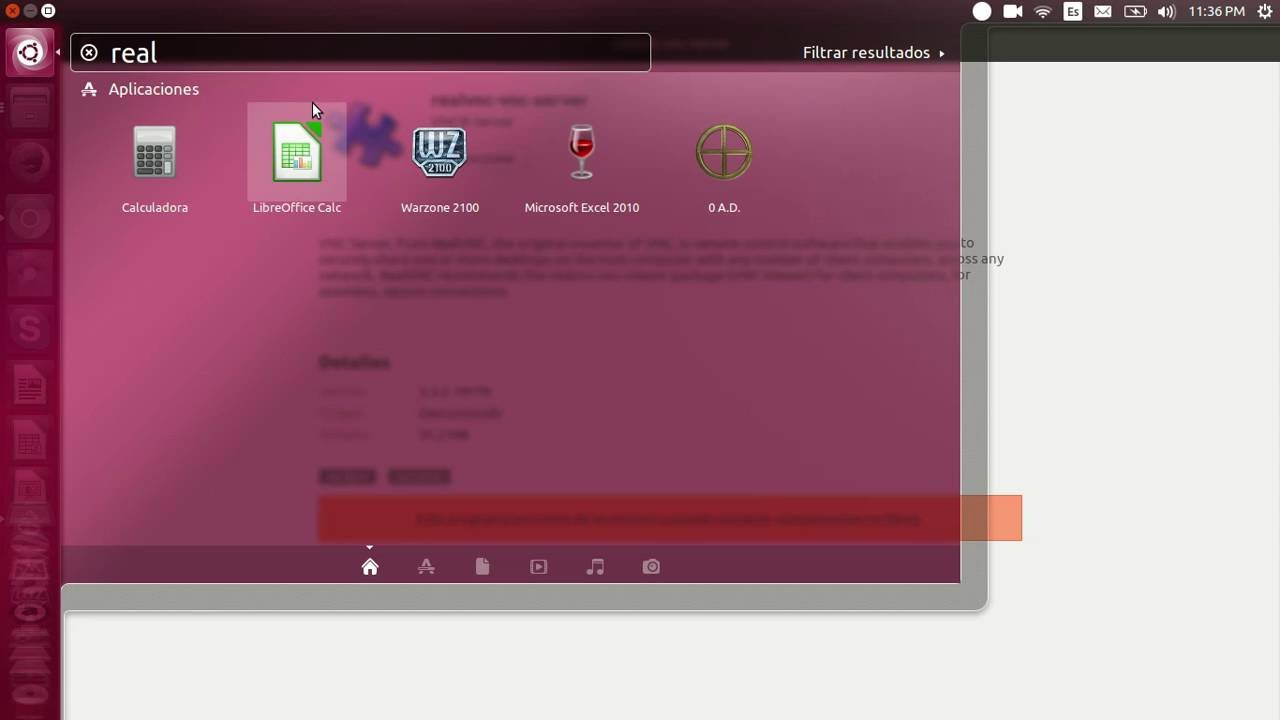 Instalar VNC en Ubuntu 16 04 LTS
