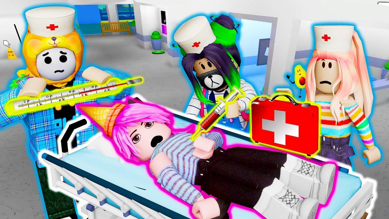 ЛЕЧИМ ЛАНУ ОТ ЛАНАВИРУСА! Roblox Hospital Life Roleplay