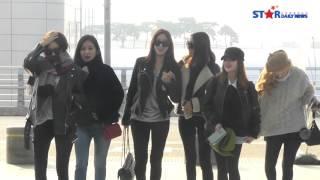 [S영상] 티아라, '부둥부둥 사이좋은 출국길'