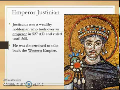 Zick & Cook's FCV #33 - Contributions of Justinian in the Byzantine Empire