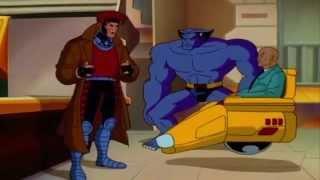 X-Men çizgi Dizi - GAMBİT HIRSIZ ETRAFINDA
