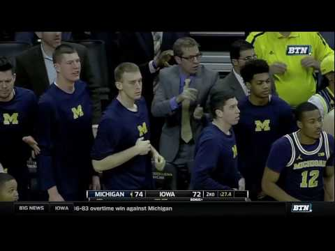 Michigan at Iowa - Men