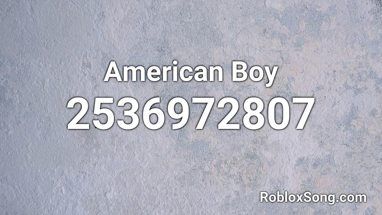 American Boy Roblox Id Roblox Music Code Youtube