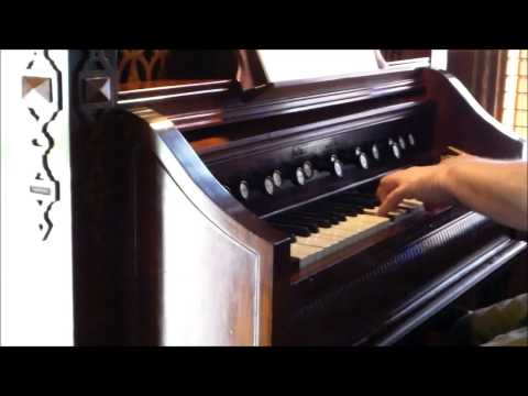 Estey Reed Organ Demo 1908 Salon Organ