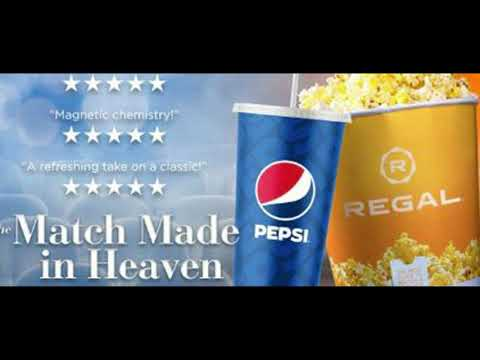 Regal Cinemas and Pepsi Merge together