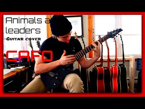 Guitar Cover Animals As Leaders Cafo With Tab Youtube