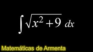 integracion por sustitucion trigonometrica ejemplo 7