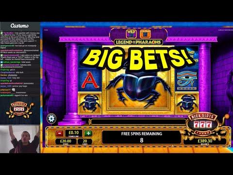 Big Bet Slots - Legend of the Pharaoh's, Boulder Bucks & More