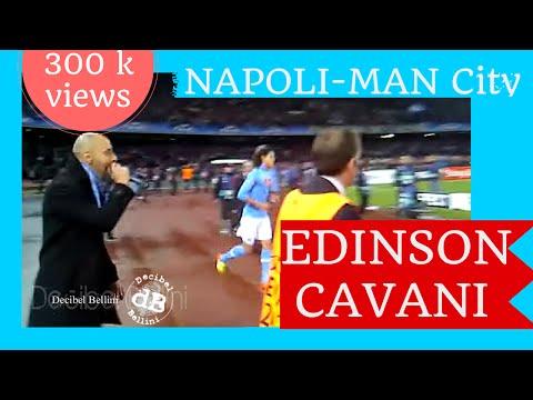 7 volte Edinson Cavani come il suo numero di maglia CHAMPIONS LEAGUE Napoli Manchester city