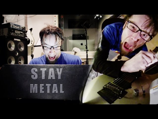 Stay (metal cover by Leo Moracchioli)