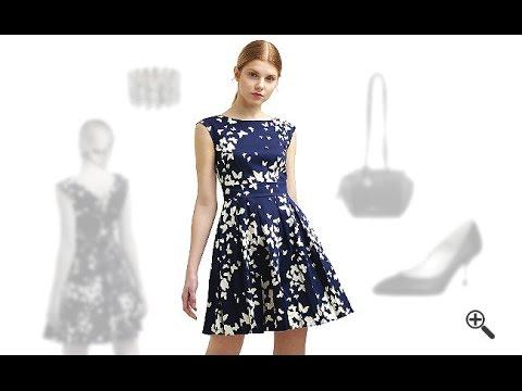 1f9681aa1b13b2 Closet Kleider in Navy Blau Online Kaufen + 3 schicke Outfits für Laura