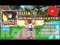 Mining Simulator 75 CODES (UPDATE), Objetos Legendarios y Mina Dino, Roblox Español Guía Tutorial 3