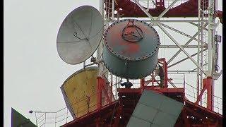 Разобрана станция, передающая интернет по радиоканалу