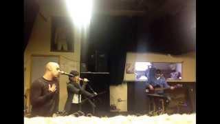Robby Celestin rehearsing Curtis Mayfield