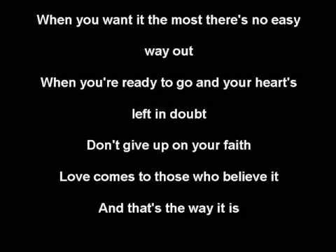 Celine Dion - That's The Way It Is - Karaoke Instrumental