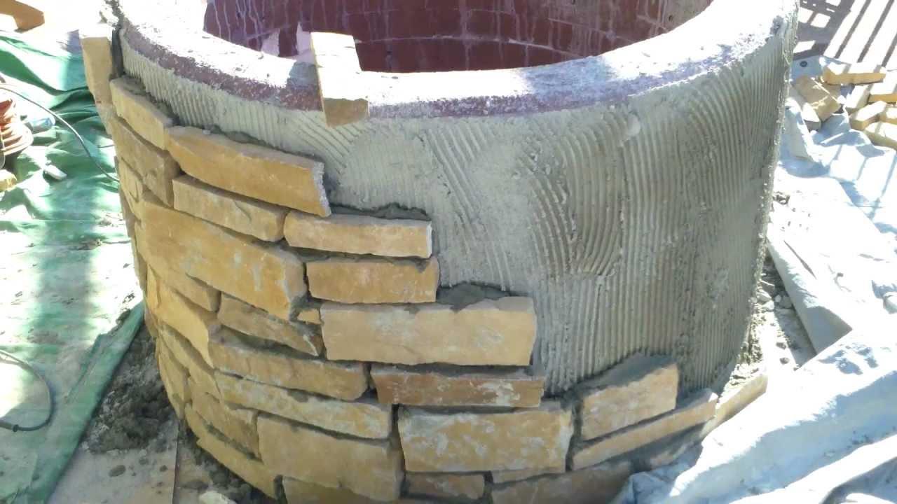 Denver Landscape Contractor Installing Custom Gas Fire Pit Part 2