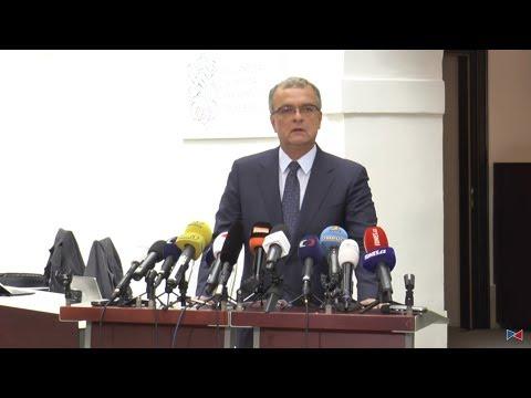 Tisková konference předsedy TOP 09 Miroslava Kalouska