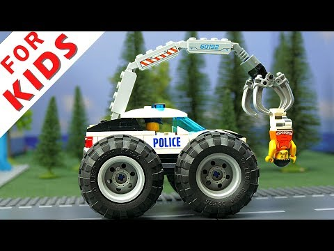 LEGO Experimental Cars and Lego  Police car , Ambulance car , City Pizza car and Trucks