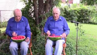 Eating a Watermelon With My Clone