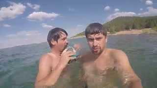 Красота Казахстана 2015 GOPRO  Челкар(Шалкар)-Кокшетау-Астана