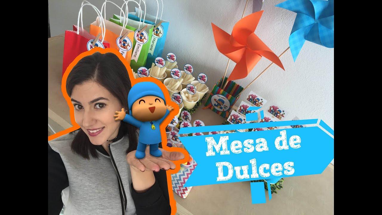 Mesa De Dulces De Pocoyo Youtube