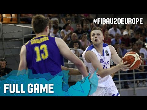 Greece v Sweden - Full Game - FIBA U20 European Championship 2017