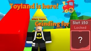 roblox - Bubble gum simulator! New Update **Toyland** and bad jokes