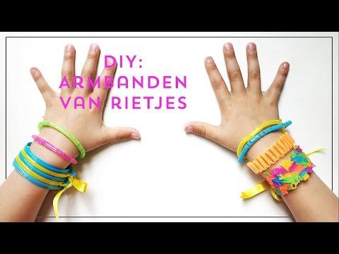 Uitgelezene Knutselen met rietjes: armbanden maken | Lady Lemonade EJ-51
