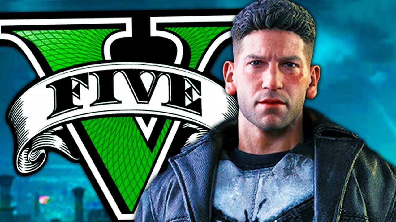 Soy THE PUNISHER en GTA 5! Grand Theft Auto V - GTA V Mods
