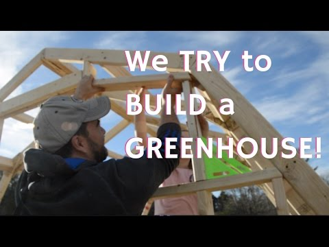 How To Build Greenhouse From Scratch Diy