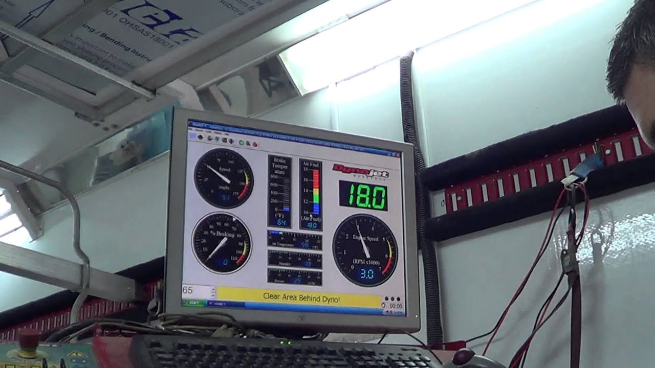 Stock 2014 Harley FLHX Street Glide Dyno Test Results www cyclesolutions com