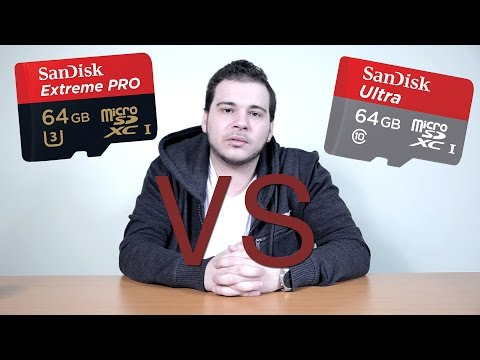 Sandisk Micro SD - Ultra vs Extreme Pro!!