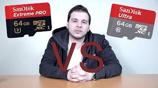 Sandisk Micro SD - Ultra vs Extreme Pro!!