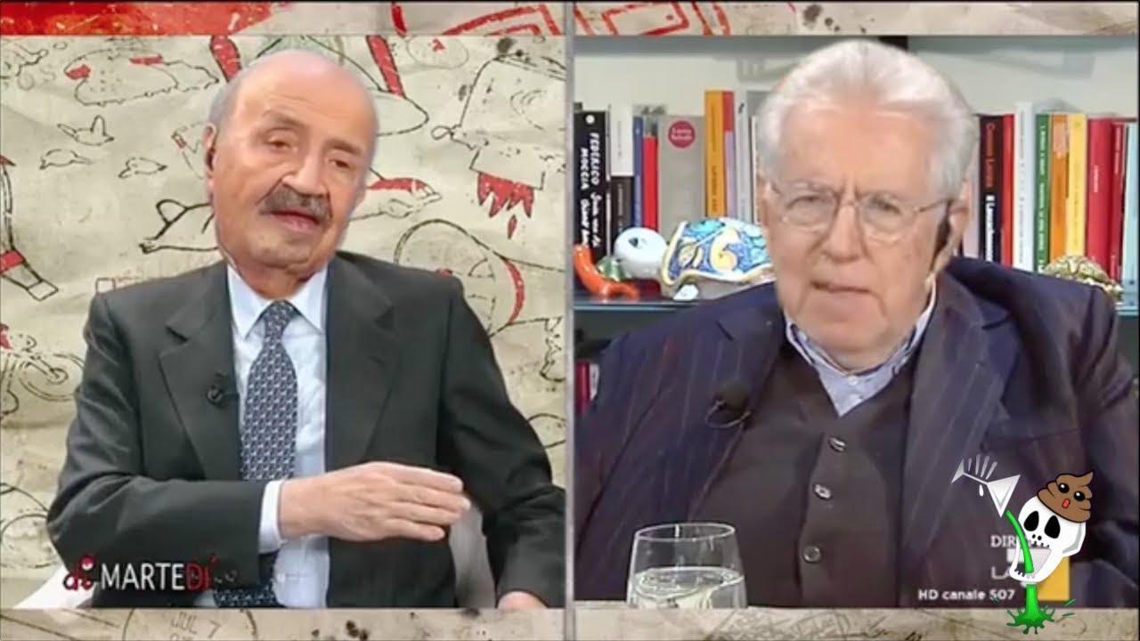 YTP - Mario Monti legalizza cose nei panni di Costanzo