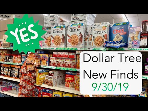 Dollar Tree NEW FINDS 🔥🔥🔥 | + FAMILY SIZE CEREAL $1.00 ~ GET THOSE COUPONS OUT!!! 9/30/19