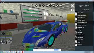 how to change the color of your car on Roblox vehicle simulator