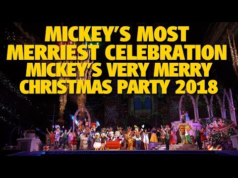 Mickey's Most Merriest Celebration 2018 | Walt Disney World Resort