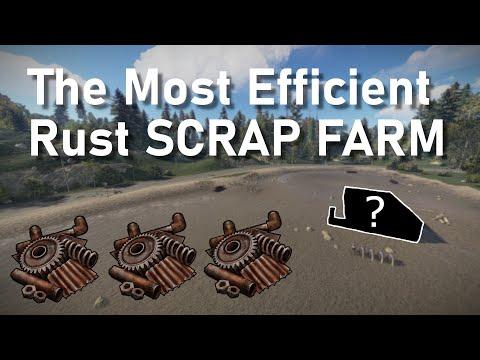 Rust   The Most Efficient SCRAP/HEMP FARM
