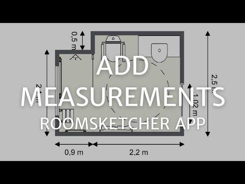 Add Measurements - RoomSketcher App