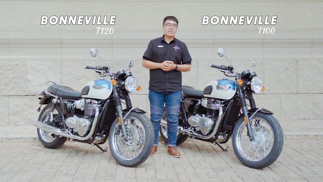 ĐÁNH GIÁ XE MOTO TRIUMPH T120 VÀ T100 - HUYỀN THOẠI BONNEVILLE