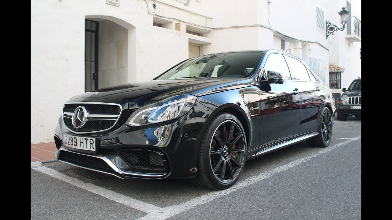 2014 Mercedes E63 Amg S On Road Sound And Details Youtube