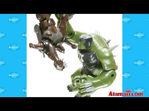 Ben 10 Ultimate Alien Toys Ultimate Humungousaur Extravaganza Toy Review Unboxing