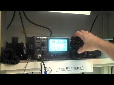 IC 746 Pro Training   Section 3E   Setting Frequencies   Locking the VFO