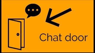 Roblox Studio scripting how to make chat door